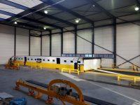 La máquina de corte por laser más larga del mundo