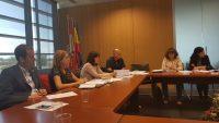 Reunión con la nueva Directora General de Industria y Competitividad